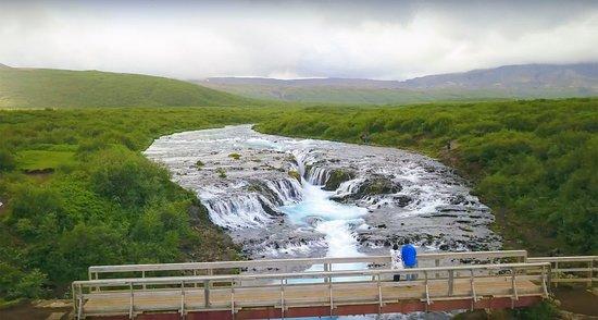 Brekkuskogur, Islande : Our absolute favorite waterfall in Iceland - Bruarfoss