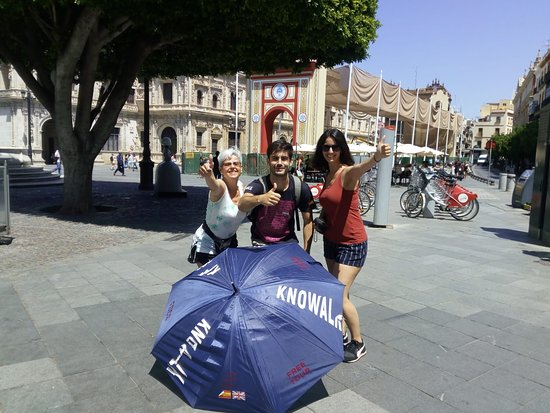 Ruta free tour Sevilla en la Plaza de San Francisco. 13-jun-19
