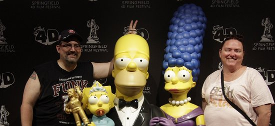 ‪The Simpsons 4D‬