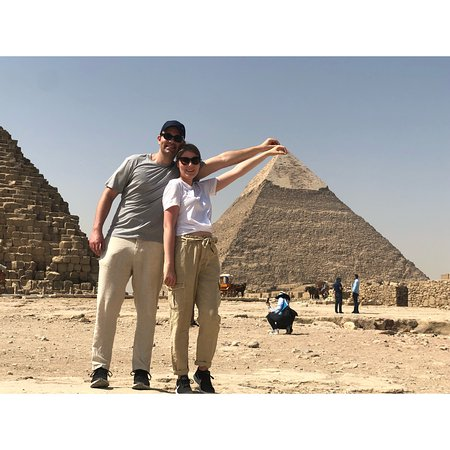 Cairo private guided day tour to Giza Pyramids and Sphinx Resmi