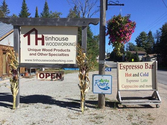 Tinhouse Woodworking & Espresso Bar