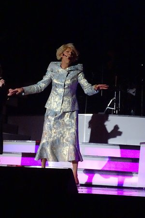 Joan Rivers attends every show.