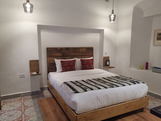 Habitación de lujo con cama queen size