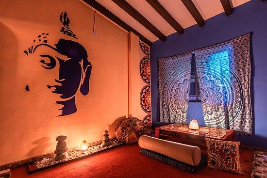 Budablues restaurante comida india: Espacios decorados