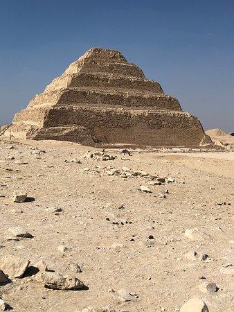 Saqqara (Sakkara) Pyramids: פירמידת המדרגות