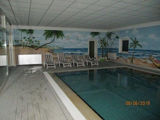 Hugelsheim, เยอรมนี: pool und sauna