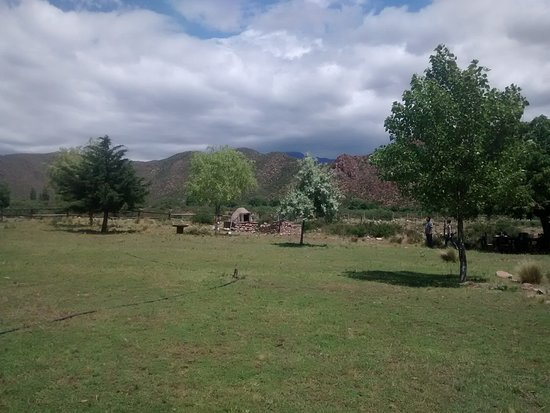 Los Arboles, Argentina: Lunch beyong the Andes