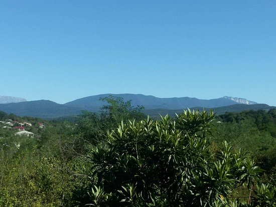 Tskaltubo, Gruzie: View from room