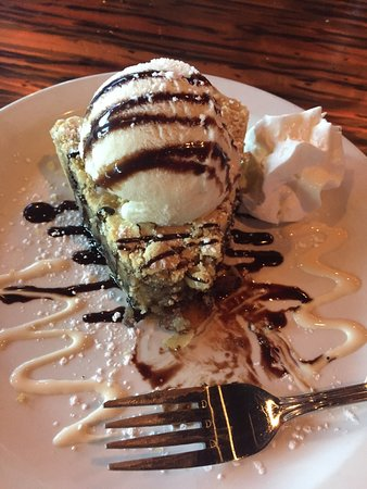 Chocolate chip pecan pie was amazing!