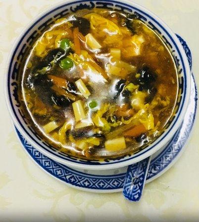 Ristorante Cinese Oriente: Zuppa agro piccante.