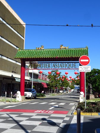 Chinatown nearby