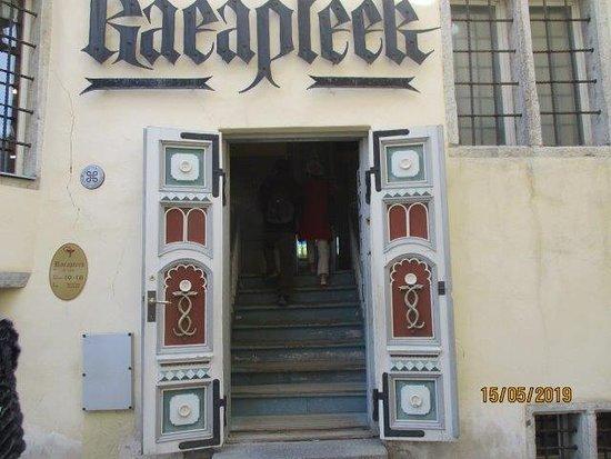 entrance to pharmacy