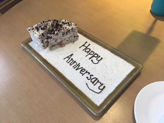 Thanks for the cake!