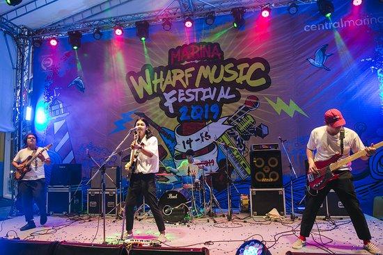 Marina Wharf Music Festival 2019 (14-16 Jun.) The youth music competition at CentralMarina