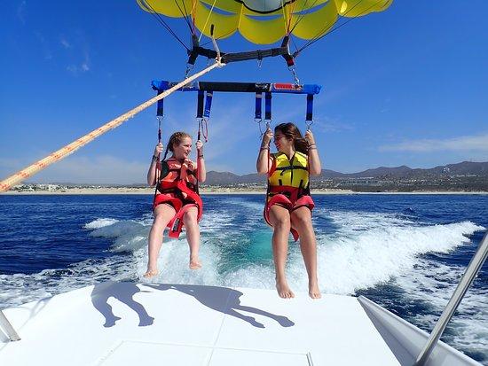 Happy Flights Cabo Parasailing: That was fun!
