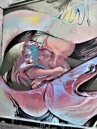"""Fresque """"Enfantement"""""""