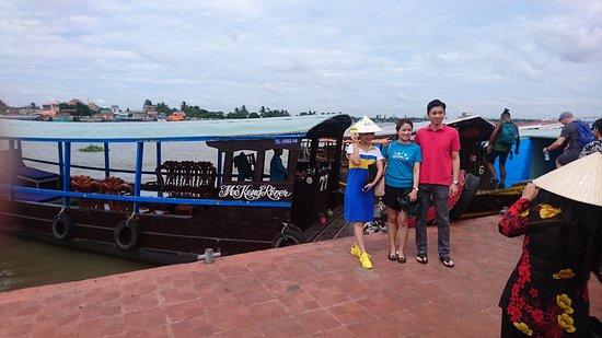Mekong River Tourist: Malaysian travelers