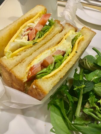 PAN de PAIN Pancakes & Sweets: Egg Salad Sandwich