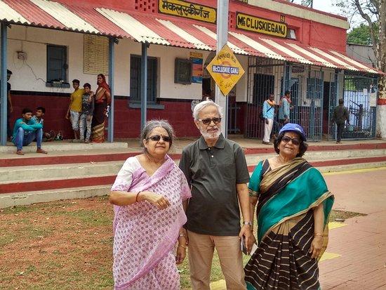 Ranchi District, Indie: Sleepy little railway station in McCluskieganj