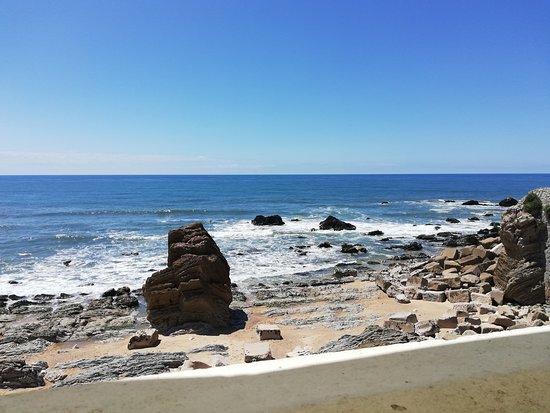 Quinta Da Falca: Paisagem do restaurante estrela do mar em s. pedro Moel