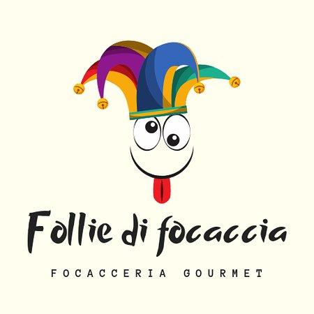 Follie di Focaccia: Logo del nostro locale, folle come le focacce che proponiamo nel nostro menù.