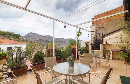 Terraza Solarium En Casa Rural Ca Lluis Picture Of La Vall