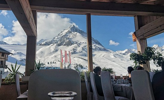 Kühtai, Österreich: View from my dining table 😍
