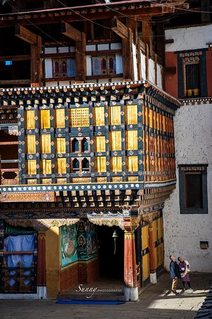 Paro Rimpung Dzong, Bhutan #CanonR