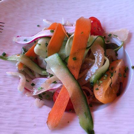 Heerlijke salade crudités!