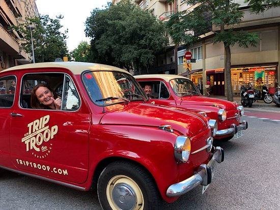 Trip Troop Barcelona Vintage Tours