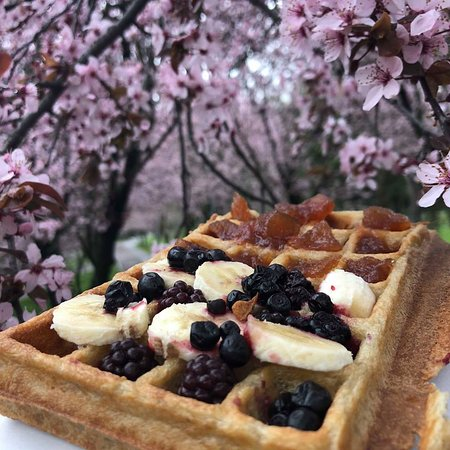 Walk in the park. With a waffle.