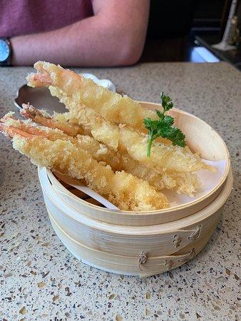 Osaka Hibachi Restaurant & Sake Bar: Shrimp tempura