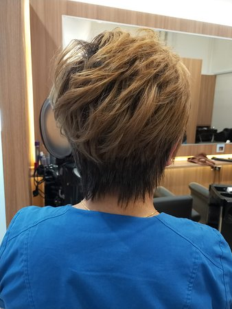 Precision Cut By Our Senior Stylist Philip Highlight Golden Brown Call 94591998 For An Appointment 105 Irrawaddy Road 01 15 Royal Square At Novena Singapore 329566 Picture Of Novena Singapore Tripadvisor