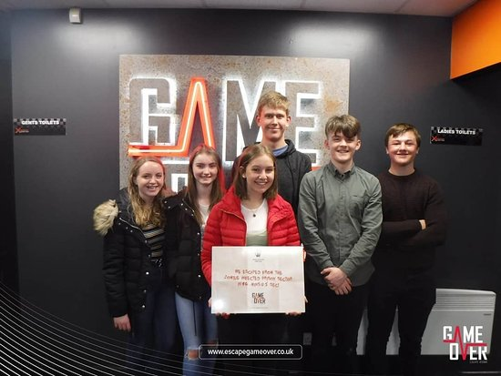 GAME OVER Escape Rooms - Falkirk