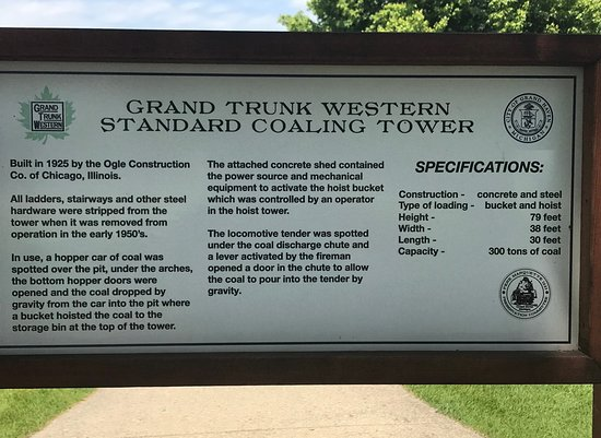 Description of the Coaling Tower
