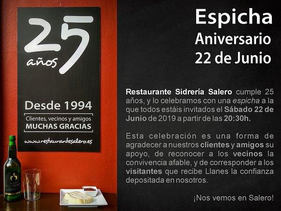 Restaurante Sidreria Salero: Ven a tomar un 'culín', estás invitado ;)