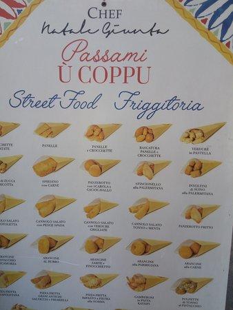 Menu Passami u Coppu