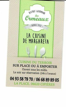 Cipieres, Francia: les ormeaux