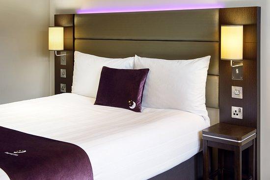 Premier Inn bed