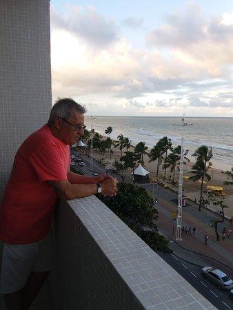 Hotel Jangadeiro: VISTA DO APARTAMENTO