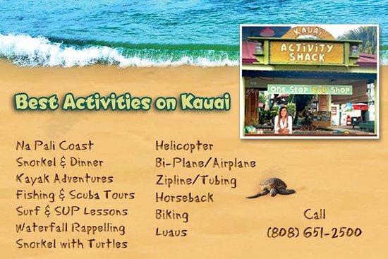 Activity Shack Kauai