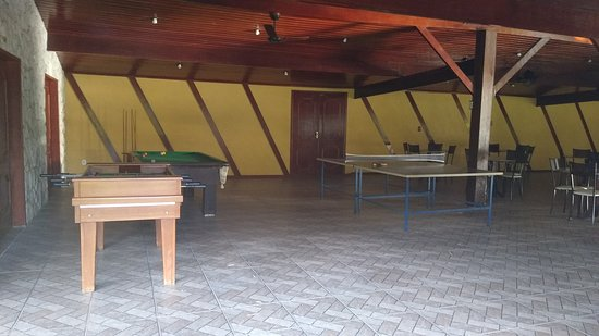 Sala de Jogos.