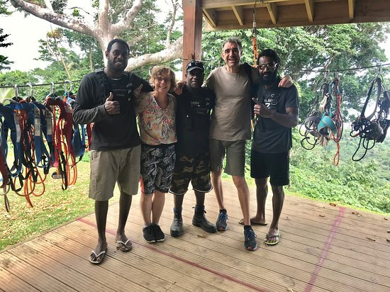 Vanuatu Jungle Zipline: Job done!