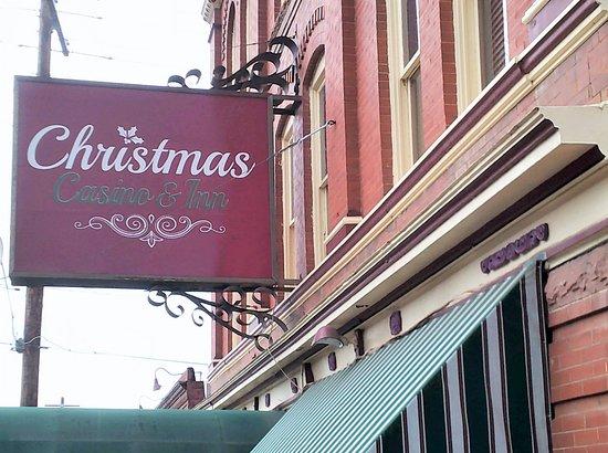 Christmas Casino & Inn: Sign