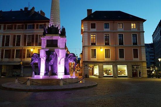 Visite en vélo électrique à Chambéry...