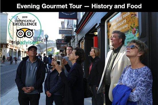 Evening Gourmet Tour 5 Cena de curso...