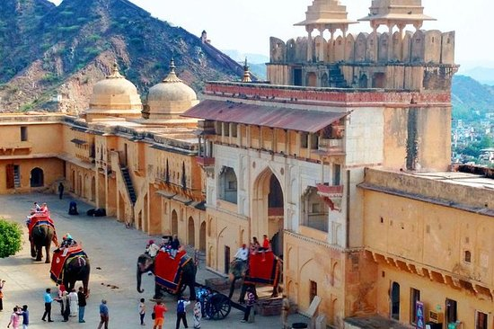 Golden Triangle 04 Day Tour from Delhi included Tajmahal and Amber Fort: 4 Days Golden Triangle Tour ! Delhi - Agra - Jaipur
