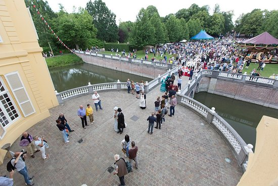 Hingene, Belgia: La fête du château, en juin.