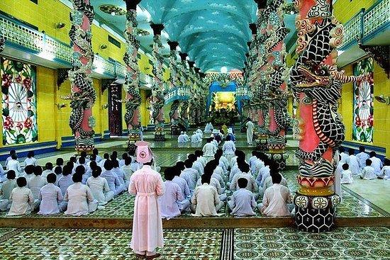 Cu Chi-tunnel - Cao Dai-tempel ...