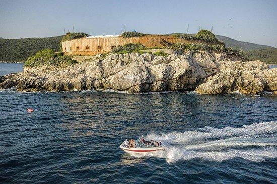 ⛵ Bahía de Tivat y cueva azul ☀ Paseo...